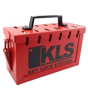 Padlockable key box